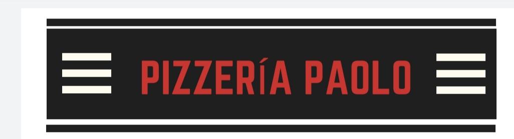 Pizzería Paolo